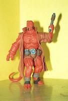 Hellboy de frente